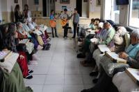 Alunos entregam cerca 500 litros de leite para o Asilo Dom Bosco