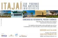 Inscrições para o Concurso Itajaí 158 Páginas por Artistas Invisíveis vão até fim do mês