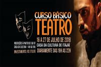 20ª edição do Curso Básico de Teatro Intensivo de Inverno será oferecida na Casa da Cultura