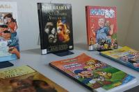 Biblioteca Pública empresta revistas de histórias em quadrinhos