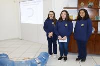 Alunas da Rede Municipal de Ensino criam projeto para limpar o rio Itajaí-Açu