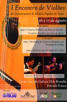 Conservatório de Música promove o 1º Encontro de Violões