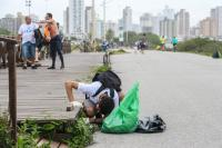 Famai participa do mutirão do Limpando o Mundo