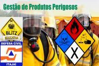 Defesa Civil realiza blitze educativas de transporte de produtos perigosos