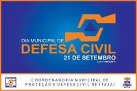 Defesa Civil promove ação educativa nesta sexta-feira (21)