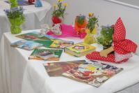 Primavera Literária encerra com contação de histórias e doação de flores