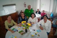 Café das Arteiras reúne alunas do programa Arte nos Bairros