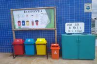 Famai instala ponto de coleta para lixo eletrônico e óleo de cozinha no Santa Regina