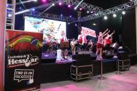 Banda alemã agitou o público na terça- feira de Marejada