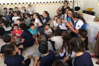 Alunos da Itaipava aprendem através da música com o projeto Se Liga no Som!
