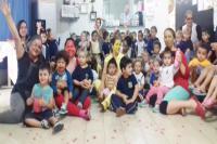 Musical Seu Melão aborda histórias infantis para alunos de CEI