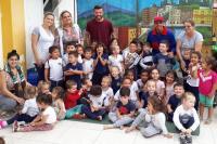 Peça teatral ensina crianças a preservar o meio ambiente