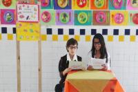 Alunos da Escola Básica Padre Pedro Baron vencem concurso Alimentando Ideias