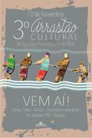 3º Arrastão Cultural será sábado (10) na Itaipava