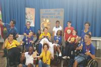 Equipe de Bocha Paralímpica de Itajaí é campeã do Circuito Catarinense