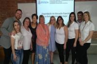 Educação Especial de Itajaí é apresentada para professores dos EUA