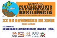 Participe do Seminário Regional da Defesa Civil nesta quinta-feira