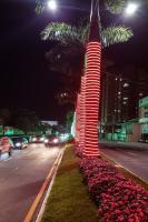 Decoração natalina de Itajaí está na fase final de montagem