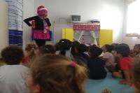 Projeto Poesia na Janela aborda o Natal em Centro de Educação Infantil