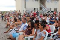 Município de Itajaí reúne famílias do São Francisco de Assis para tratar de infraestrutura