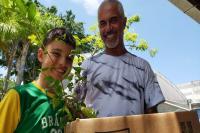 Feira de Doação da Famai distribui quase 1500 mudas