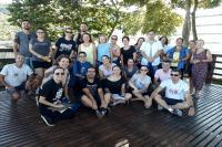 Professores da escola Gaspar da Costa Moraes visitam o Viveiro de Mudas