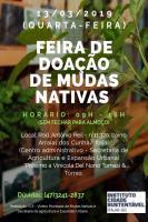Arraial dos Cunha receberá Feira de Doação de Mudas