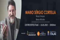 Mais dois mil ingressos disponíveis para palestra com Mário Sérgio Cortella