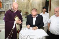 Município de Itajaí inicia a revitalização da Igreja Matriz do Santíssimo Sacramento