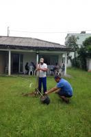 Centro de Convivência do Idoso do São Judas recebe plantio de árvores